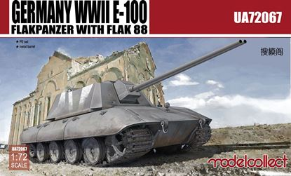 Picture of Germany WWII E-100 Flakpanzer with flak 88