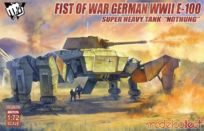 "Picture of Fist of War German WWII E-100 Supper Heavy Tank ""Nothung"""